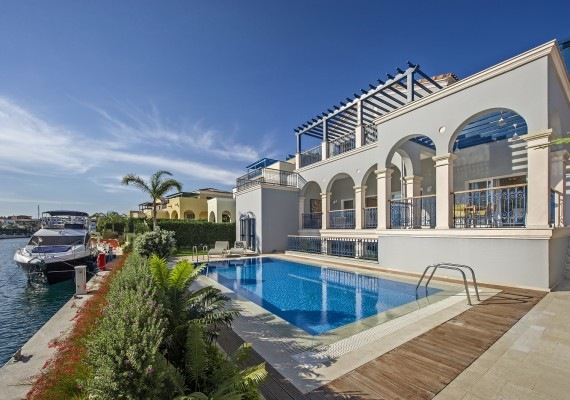 Villa With Private Berth Limassol Marina
